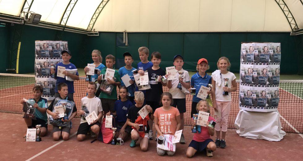 Dzieci i młodzież rywalizowali w Mistrzostwach Szkół w Tenisie
