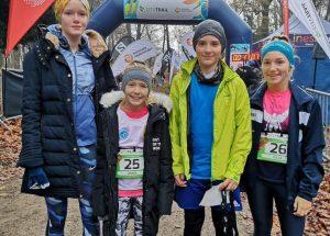 Reprezentanci Szczecinka na podium w zawodach biegowych w Szczecinie