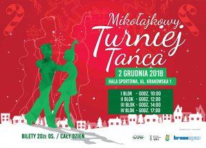 Zaproszenie do Szczecinka na Mikołajkowy Turniej Tańca Towarzyskiego