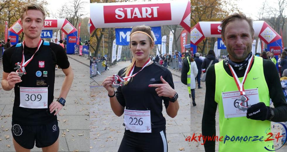 Sukces zawodników ze Szczecinka w Kołobrzeskim Biegu Niepodległości