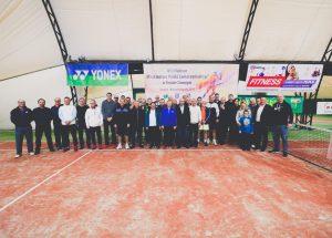 VIII Halowe Mistrzostwa Polski Samorządowców w Tenisie Ziemnym Teresin 2018r