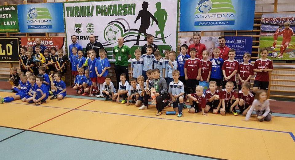 Ruszył cykl turniejów halowych z udziałem piłkarzy Akademii Piłkarskiej Szczecinek