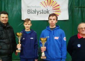 Sukces szczecineckiego tenisisty w Białymstoku