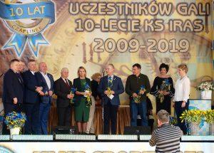 Klub Sportowy IRAS Czaplinek świętował swoje dziesięciolecie