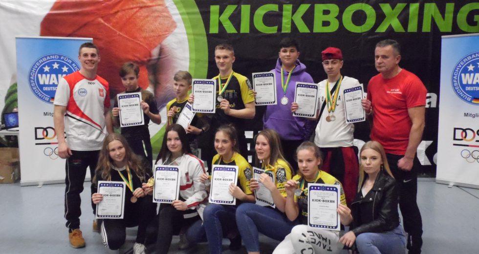 Sukcesy szczecineckich fighterów na Turnieju Kickboxingu w Eberswalde