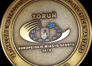 Grad medali reprezentantów Pomorza Środkowego na Mistrzostwach Polski w Lekkiej Atletyce Masters