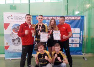 Zawodnicy KSW Szczecinek zdobyli tytuły Mistrzów Polski w kick-boxingu