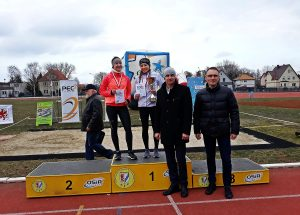 Złoto Natalii Kowalik z Miejskiego Klubu Lekkoatletycznego