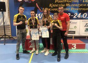 Złoto i brąz Mistrzostw Polski w kickboxingu dla zawodników KSW Szczecinek