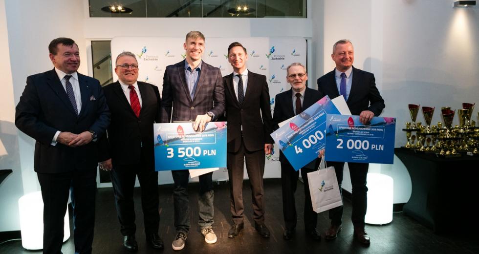 w Szczecinie nagrodzono sportowców za osiągnięcia w 2018 roku