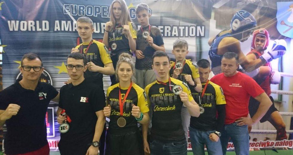 Grad medali fighterów z KSW Szczecinek w Pucharze Europy