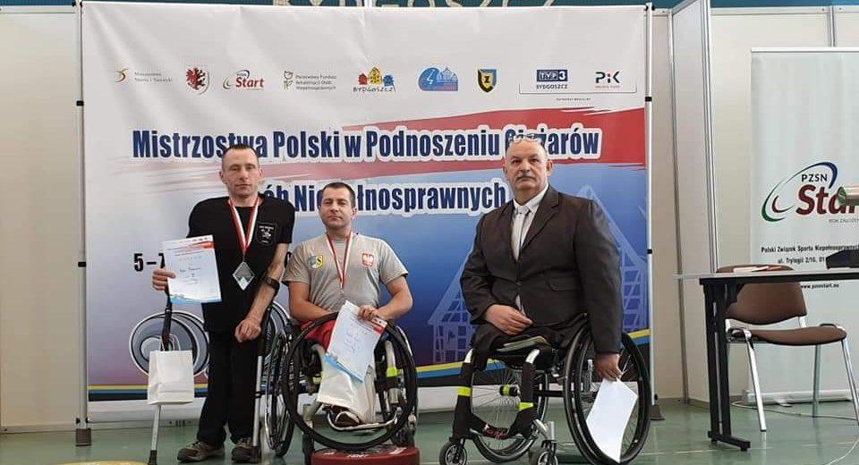 Rafał Roch złotym medalistą Mistrzostw Polski w podnoszeniu ciężarów osób niepełnosprawnych