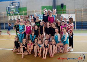 Zespoły akrobatyczne dziewcząt rywalizowały w Wojewódzkiej Olimpiadzie.