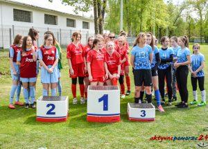 Mistrzostwa Powiatu dziewcząt i chłopców w piłce nożnej w ramach Igrzysk Młodzieży Szkolnej.