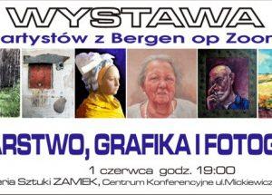 Zaproszenie na wyjątkową jednodniową wystawę artystów z Bergen op ZOOM!