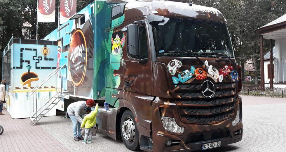 Ciężarówka Wawel Truck ponownie odwiedzi Szczecinek
