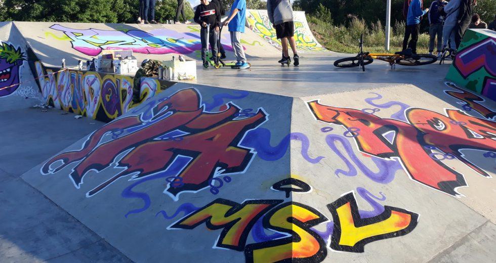 Skateplaza w Szczecinku nabrała kolorów