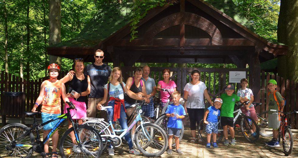 Mieszkańcy Jeżyczek uczestniczyli w rajdzie rowerowym