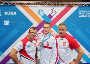 Kickboxer ze Szczecinka wicemistrzem Europy