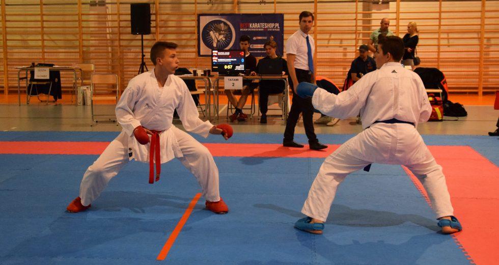 Medale karateków z Głowaczewa na Mistrzostwach w Warszawie