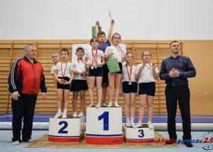 Gwiazdkowy turniej akrobatek i akrobatów