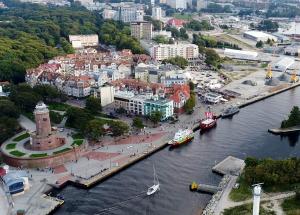 Port pasażerski w Kołobrzegu bez ruchu samochodowego?