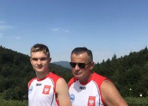 Szymon Gaczyński z KSW Szczecinek na zgrupowaniu Kadry Polski Juniorów w Kickboxingu.
