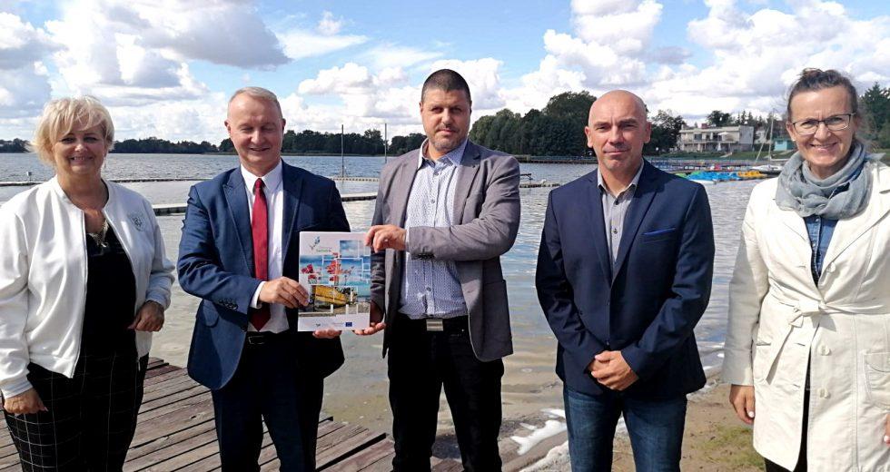 Nowe pomosty pływające pojawią się na jeziorze Klukom w Choszcznie