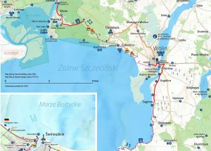 Rowerem wokół Zalewu Szczecińskiego. Przetarg na kolejne 13 kilometrów